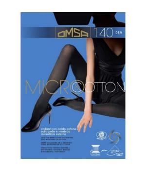 Колготки с хлопком OMSA Micro & Cotton 140