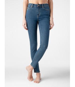 Брюки джинсовые женскийCE CON-275, стр.170-98, аутентичный синий