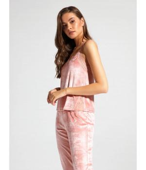 Топ женскийCE VELVET LOUNGEWEAR LHW 1008, р.170-100, светло-розовый