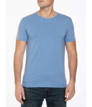 Фуфайка муж. DW MF 692, р.182,188-100, голубой-серый