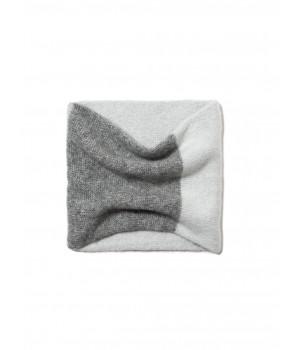 Шарф-снуд женскийСЕ 18С-200СП, р.31 * 32, серый