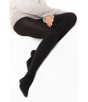Колготки женские хлопковые GATTA Celia 120, 2, nero(чёрный)