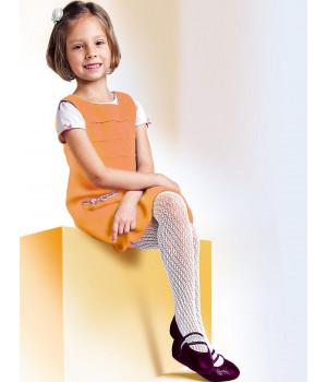 Детские узорчатые колготки Aleksandra Martynka Арт.: 9847, 5, Fuxia