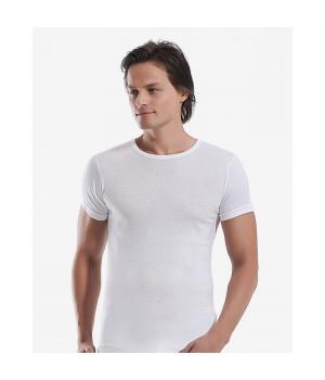 Мужская футболка Oztas A-1048, XL, Белый