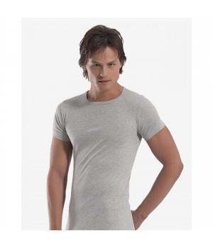 Мужская футболка Oztas A-1060, XL, Серый