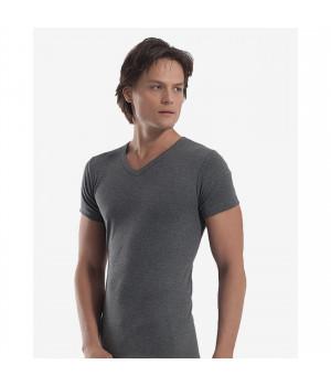 Мужская футболка Oztas A-1062, XL, Серый