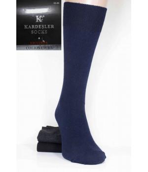 Стрейчевые мужские носки KARDESLER Socks Exclusive высокие Арт.: 1925 / Упаковка 6 пар /, 43-46, Темное ассорти
