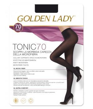 Колготки без шортиков GOLDEN LADY Tonic 70, 2, blu ultemare(синий)