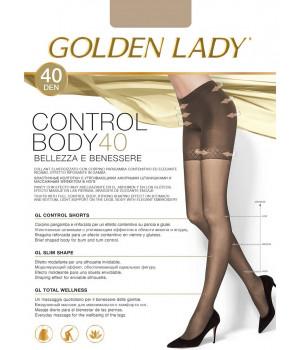 Колготки моделирующие GOLDEN LADY Control Body 40, 5, nero(чёрный)