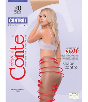 Колготки моделирующие CONTE Control 20, 4, shade(дымчатый)