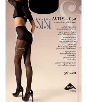 Колготки корректирующие SISI Activity 50, 5, nero(чёрный)