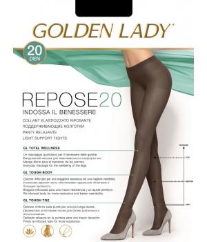 Колготки поддерживающие GOLDEN LADY Repose 20, 5, nero(чёрный)