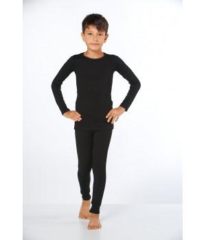 Детский комплект термобелья для мальчика Sevim Арт:7077, , Черный