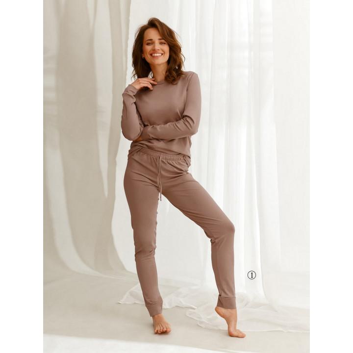 Пижама TARO 2553 MAYA AW22 XL moka