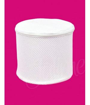 Корзинка для стирки белья / бюстгальтеров Julimex BA 07 универсальный белый