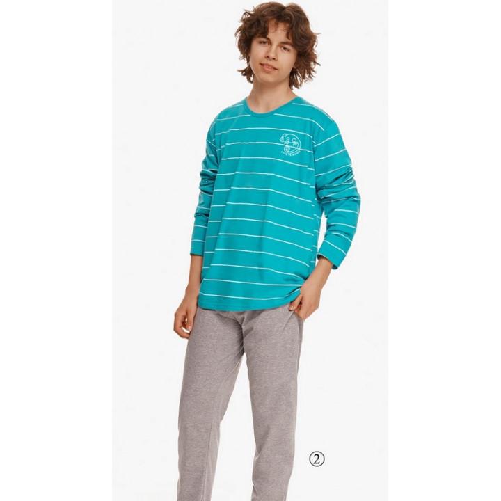Пижама TARO 2625 HARRY AW22 158 бирюзовый