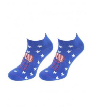 SKARPETY MARILYN FOOTIES STARS 36-40 niebieski ciemny