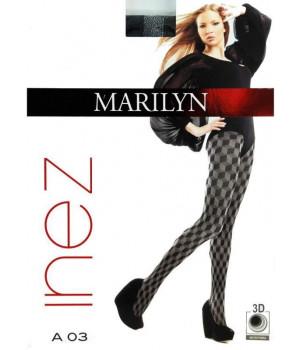 Женские колготки MARILYN INEZ A03 80