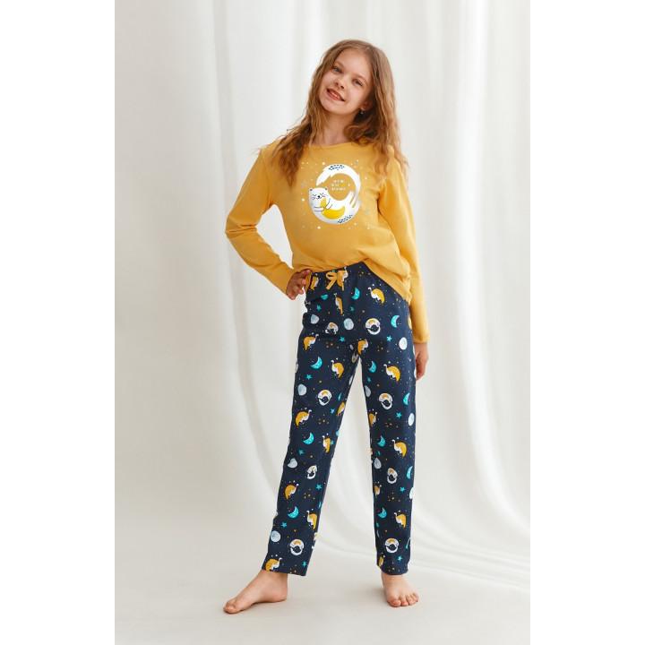 Пижама TARO 2647 SARAH 02 AW22 158 горчичный