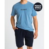 Пижама ATLANTIC NMP-346 M niebieski