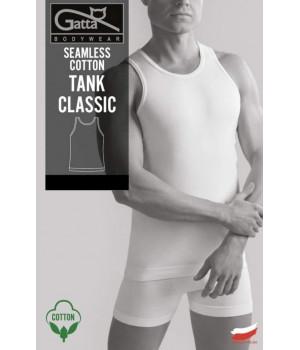 KOSZULKA GATTA SEAMLESS COTTON TANK CLASSIC XL biały