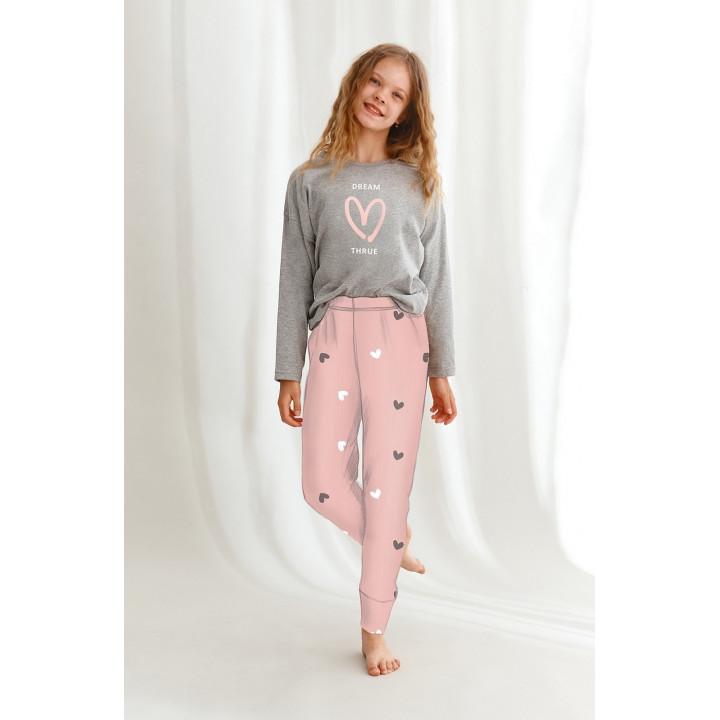 Пижама TARO 2618 SUZAN 01 AW22 158 серый