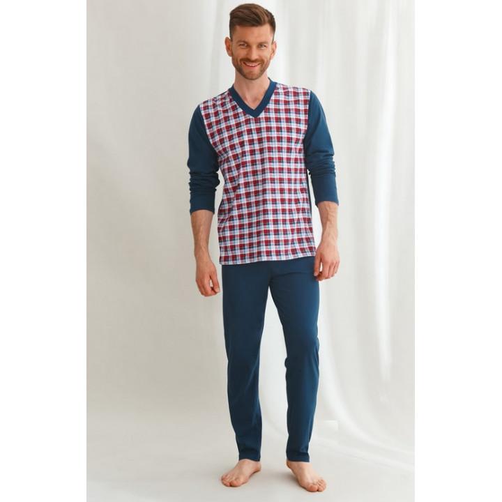 Пижама TARO 2632 VICTOR AW22 XL темно-синяя