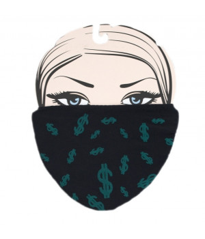 МАСКА MARILYN DOLLARS 2 универсальная черная