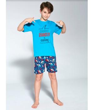 CORNETTE Pyjamas KY-790/94 DANGER 134-140 бирюзовый