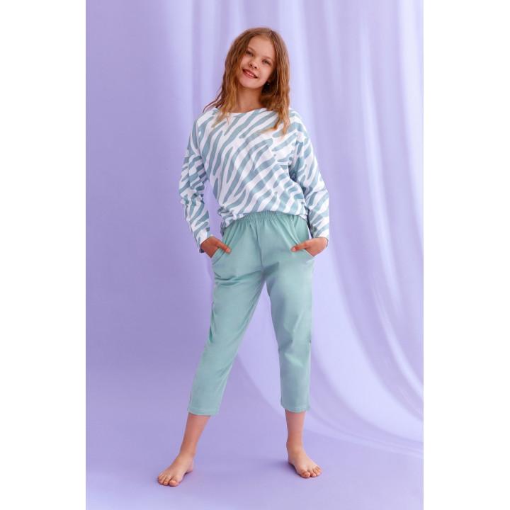 Пижама TARO 2619 CARLA AW22 158 зеленый