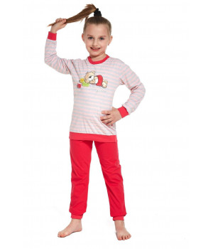 Пыжама CORNETTE KD-594/76 110-116 szary - różowy