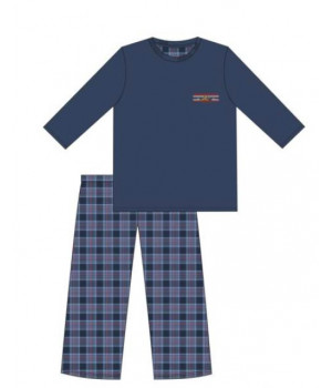 CORNETTE PM-124/179 MOUNTAIN L пижама темно-синий