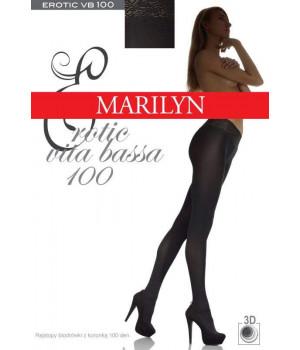 Колготки с ажурной резинкой MARILYN EROTIC VB 100