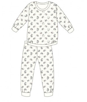 CORNETTE DZ KY-033/141 FOREST DREAMS 134-140 ecri пижамы