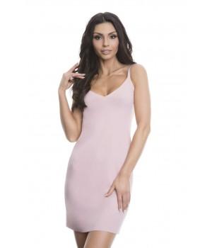 Женская бесшовная, идеально гладкая комбинация Julimex Soft & Smooth (92,5-82 см)
