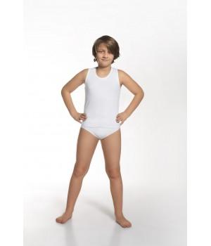 Классический хлопковый комплект белья для мальчика: майка и слипы Cornette 864/01 128