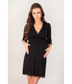 Ночная сорочка / домашнее платье для беременных и кормящих мам Lupoline 3024