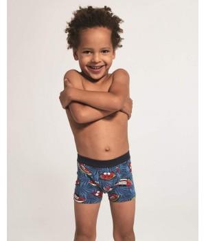 Трусы боксеры с забавным принтом для мальчика Cornette 701 Kids 2020