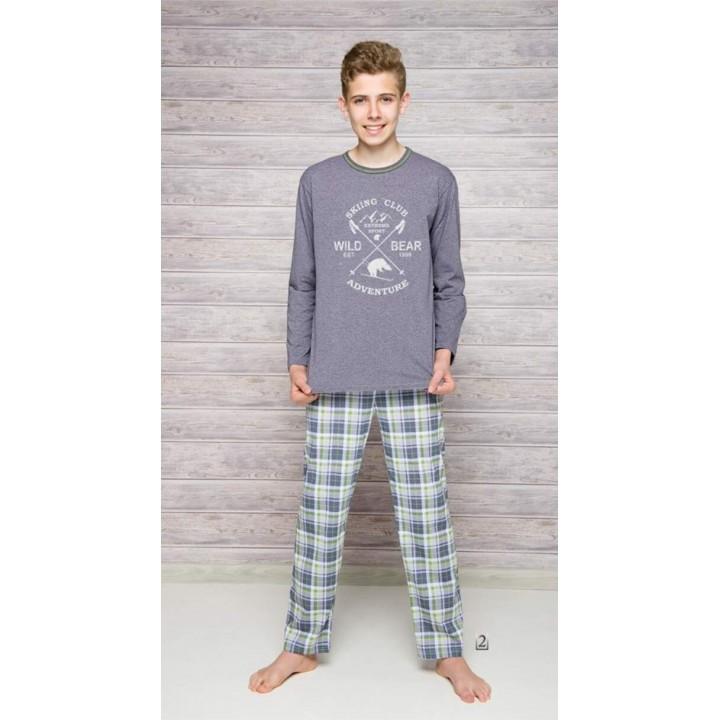 Пижама/домашний комплект для мальчика Taro 289 Franek 146-158