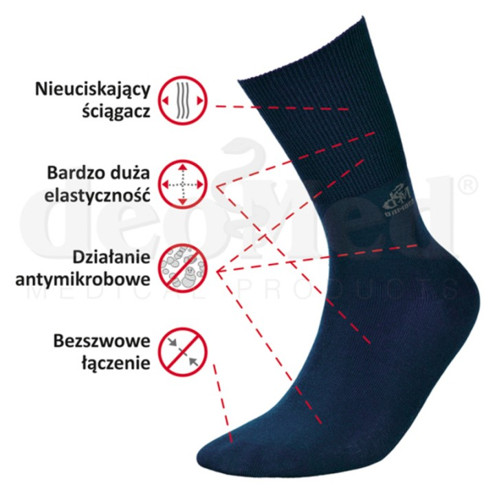 Носки MED DEO BAMBOO