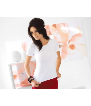 Енская тонкая блуза с короткими рукавами Babell Carla, вискоза 3XL