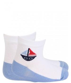 Носки тонкие, цвет 0-2 года для мальчиков