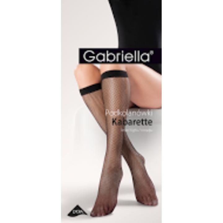 Сетчатые женские гольфы Gabriella kabaretki 151