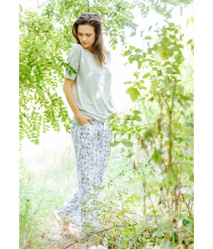 Женская пижама/ домашний комплект с оригинальной футболкой Key LHS 913 A20