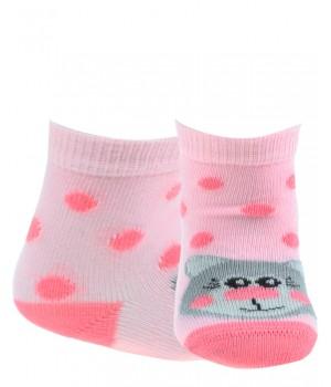 Носки с рисунком для девочек 0-2 года