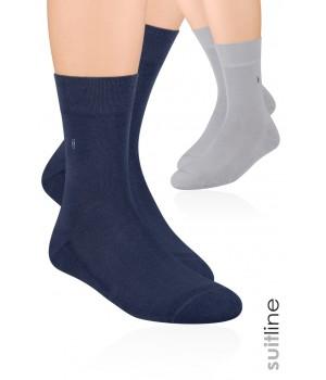 Носки мужские półfrotte с рисунком 003