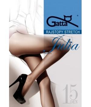Женские стрейчевые колготки GATTA JULIA 15 DEN размер 5