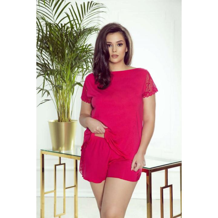 Женская стильная летняя пижама с коротким рукавом Eldar Nicola Plus
