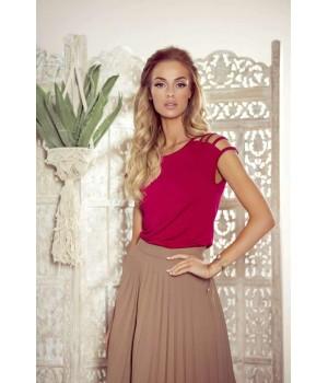 Женская блуза с открытыми оригинальными плечами Eldar Daria