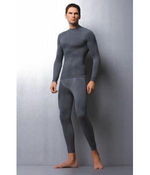 Мужские термолеггинсы с добавлением шерсти Hanna Style 05-15 Welna